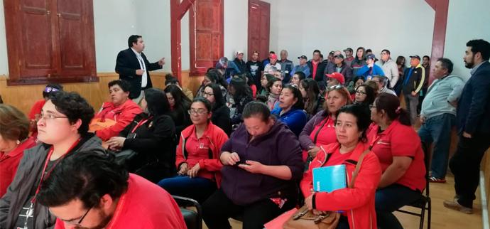 Diálogo participativo en Atacama