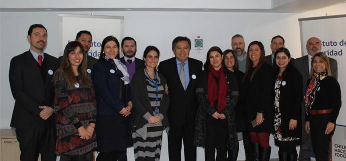 Subsecretaria María José Zaldívar visita el ISL