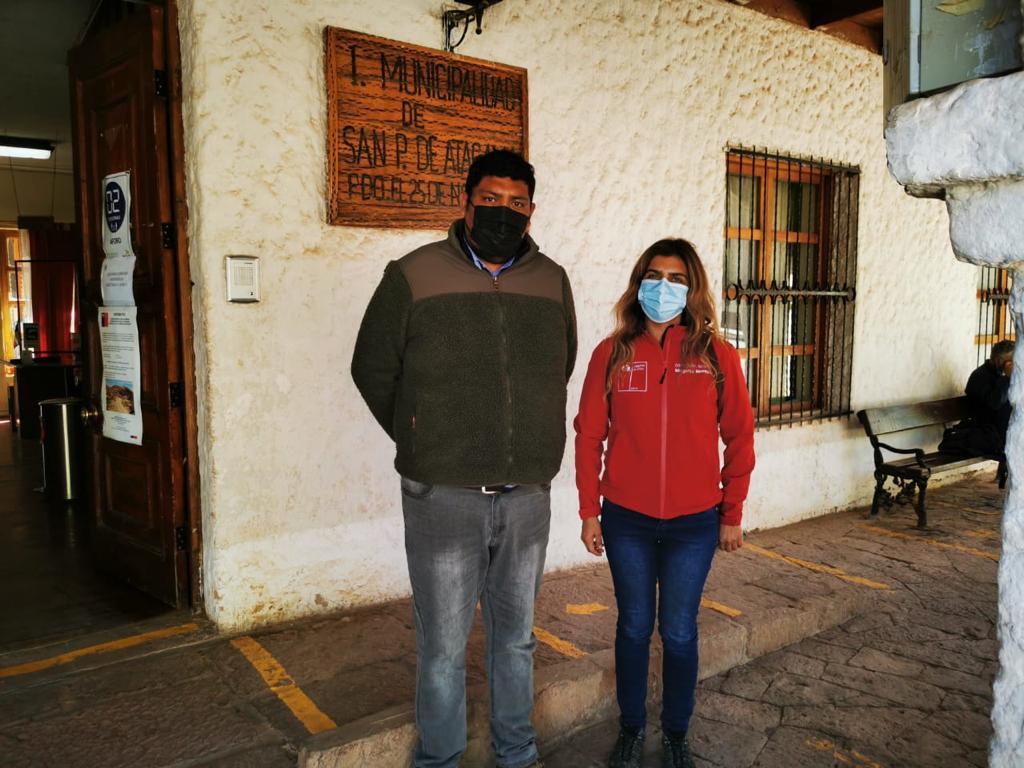 directora regional antofagasta y trabajadores