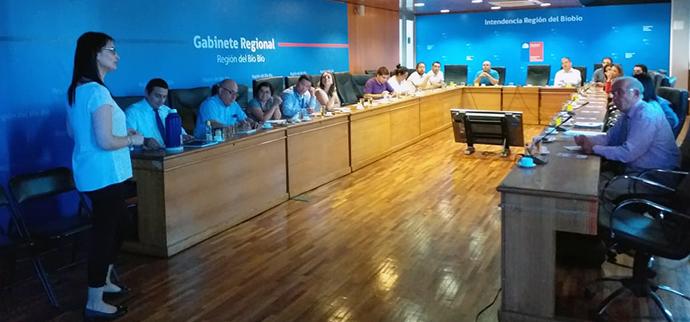 Mesa de Trabajo Gabinete Regional